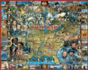 Civil War - 1000pc Jigsaw Puzzle By White Mountain