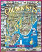 Golden Isles, GA - 1000pc Jigsaw Puzzle by White Mountain