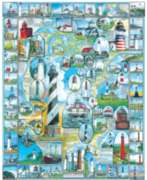 Jigsaw Puzzles - American Lighthouses