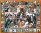 World of Dogs - 1000pc Jigsaw Puzzle by White Mountain