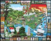Jigsaw Puzzles - Historic North Carolina