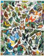 Jigsaw Puzzles - Butterflies of the World