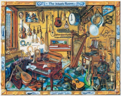 Music Puzzles - Music Room
