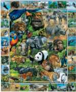 Endangered Species - 1000pc Jigsaw Puzzle By White Mountain