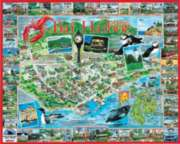 Bar Harbor, ME - 1000pc Jigsaw Puzzle by White Mountain