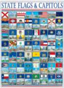 State Flags & Capitols - 1000pc Jigsaw Puzzle By White Mountain