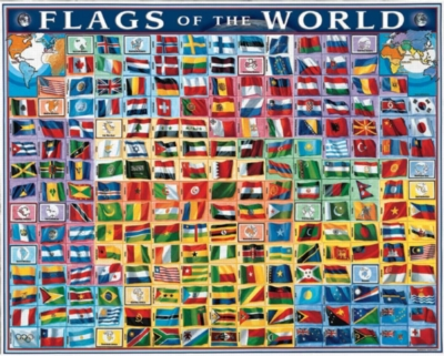 Jigsaw Puzzles - Flags of the World