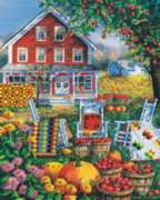 Autumn Quilts - 1000pc Jigsaw Puzzle by White Mountain