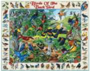 Birds of the Backyard - 1000pc Jigsaw Puzzle By White Mountain