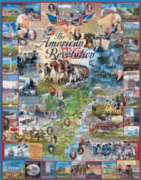 American Revolution - 1000pc Jigsaw Puzzle By White Mountain