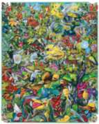 Hummingbirds - 1000pc Jigsaw Puzzle by White Mountain