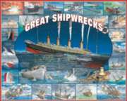 Great Shipwrecks - 1000pc Jigsaw Puzzle by White Mountain