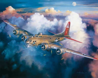 B-17 Bomber - 1000pc Jigsaw Puzzle by White Mountain