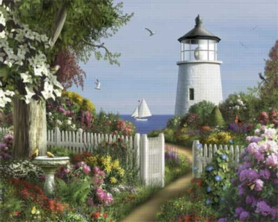 To The Lighthouse - 1000pc Jigsaw Puzzle by White Mountain
