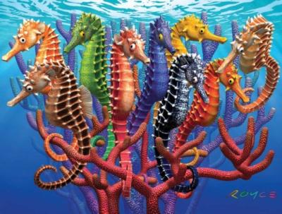 Jigsaw Puzzles - Seahorses