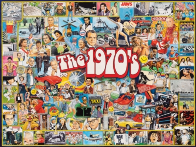 The Seventies - 1000pc Jigsaw Puzzle by White Mountain