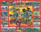 Motorcycle Madness - 1000pc Jigsaw Puzzle by White Mountain