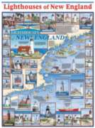 Jigsaw Puzzles - Lighthouses of New England