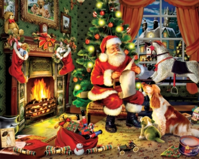 Christmas Puzzles - Checking It Twice