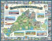 Martha's Vineyard, MA - 1000pc Jigsaw Puzzle by White Mountain