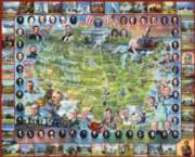 United States Presidents - 1000pc Jigsaw Puzzle By White Mountain