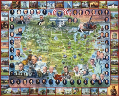Jigsaw Puzzles - United States Presidents