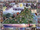 Historic Virginia - 1000pc Jigsaw Puzzle By White Mountain