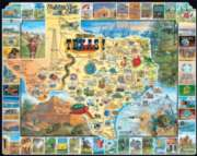 Best of Texas - 1000pc Jigsaw Puzzle By White Mountain