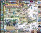 Historic Massachusetts - 1000pc Jigsaw Puzzle By White Mountain