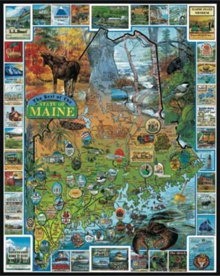 Jigsaw Puzzles - Best of Maine