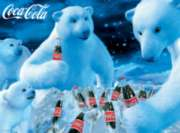 Polar Bears - 1000pc Coca-Cola Jigsaw Puzzle By Buffalo Games