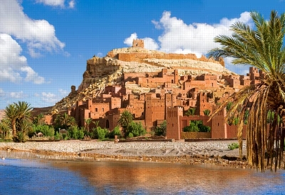 Ajt Bin Haddu, Morocco - 1000pc Jigsaw Puzzle by Castorland