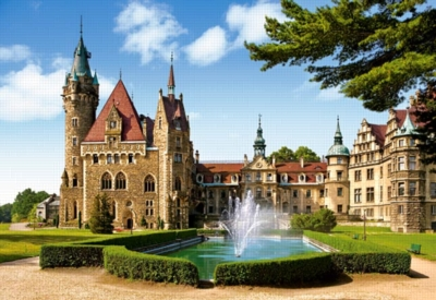 Moszna Castle, Poland - 1500pc Jigsaw Puzzle by Castorland
