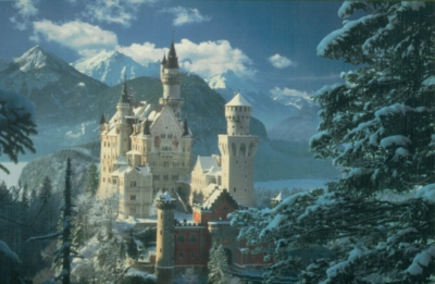 Neuschwanstein - 1000pc Jigsaw Puzzle By Clementoni