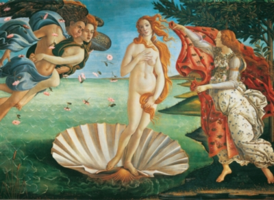 Birth of Venus - 1000pc Jigsaw Puzzle By Clementoni