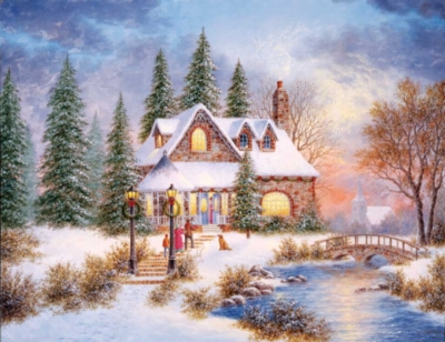 Holiday Homecoming - 500pc Jigsaw Puzzle by Springbok