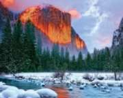 Majestic Mountain - 2000pc Jigsaw Puzzle by Springbok