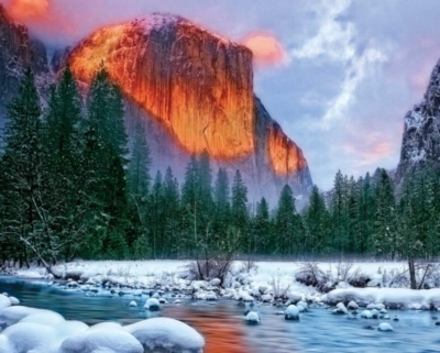 Hard Jigsaw Puzzles - Majestic Mountain