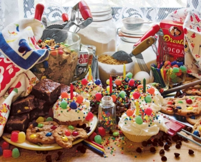 Treats and Sweets - 1000pc Jigsaw Puzzle by Springbok