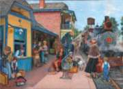 At the Station - 500pc Jigsaw Puzzle by Sunsout