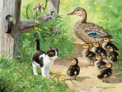 Duck Inspector - 500pc Spring Jigsaw Puzzle by Sunsout
