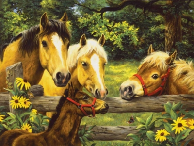 Jigsaw Puzzles - Friends, Neighbors & Sunflowers