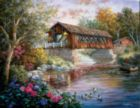 Country Thoroughfare - 1000pc Large Format Jigsaw Puzzle by Sunsout