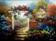 Rose Arbor - 1000pc Jigsaw Puzzle by Sunsout