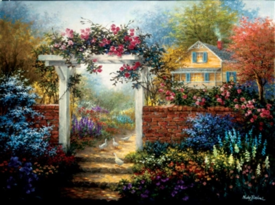 Jigsaw Puzzles - Rose Arbor