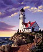 Lighthouse Hill - 1000pc Jigsaw Puzzle by Cobble Hill