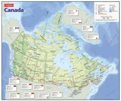 Map of Canada - 1000pc Jigsaw Puzzle by Cobble Hill