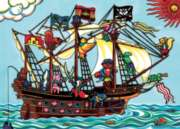 Pirate Ship - 20pc Tray Puzzle by Cobble Hill