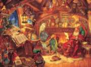 St. Nicholas in his Study - 400pc Family Style Jigsaw Puzzle By Cobble Hill
