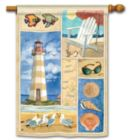 Coastal Collage- Standard Flag by Magnet Works